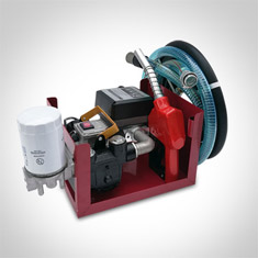 RJP1  4 Digital Portable Diesel Transfer Pump